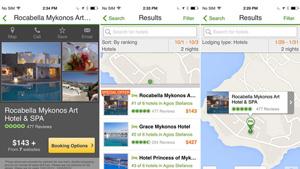 TripAdvisor for mobile app