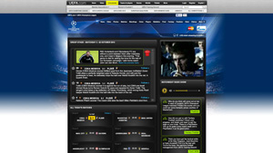 UEFA Champions League official website
