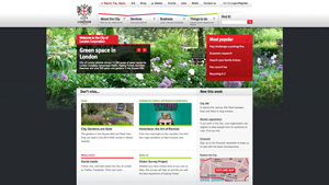 City of London website