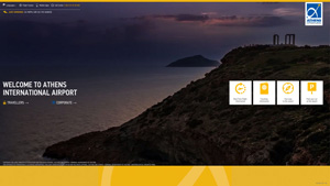 Athens International Airport Website
