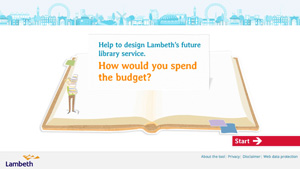 Lambeth Library Challenge