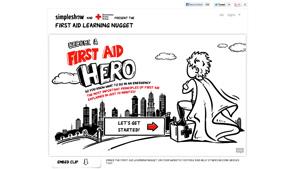 simpleshow + Deutsches Rotes Kreuz: Learning Nugget Erste Hilfe