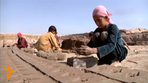 At Afghan Brickworks, Family Trapped In Cycle Of Debt