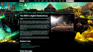 The BBC's digital Glastonbury